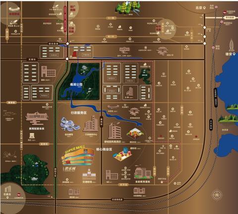 碧桂园清苑新城位置图