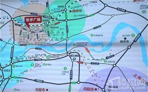 万博中星城怡华广场位置图