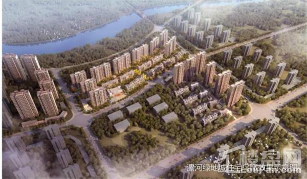 漯河绿地城效果图