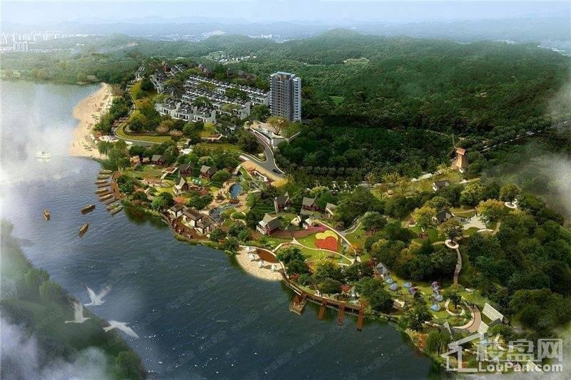 黄山龙湾湖畔