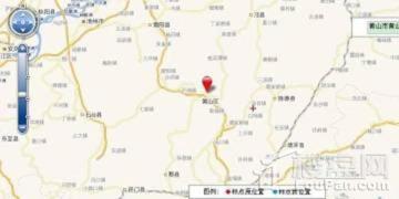 黄山第一上海中心项目位置图