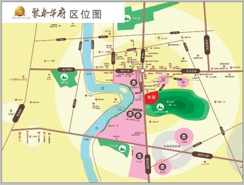 聚泰华府位置图