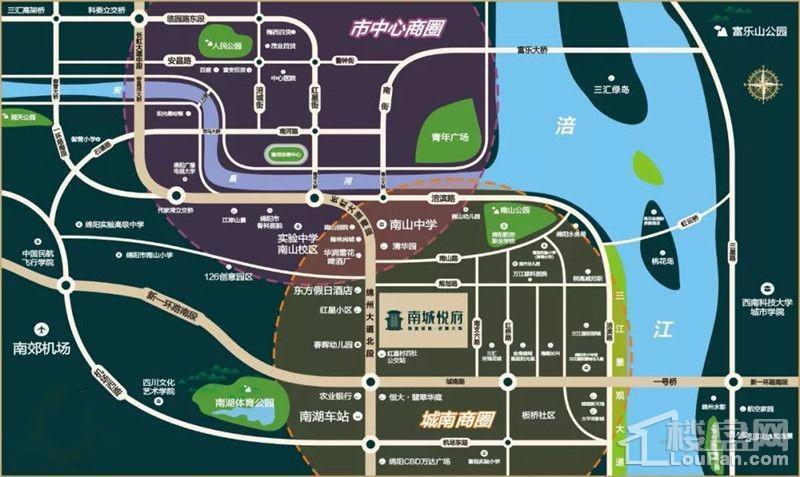 南城悦府位置图