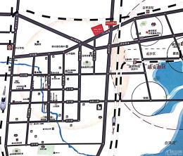 徐水玉兰湾交通图
