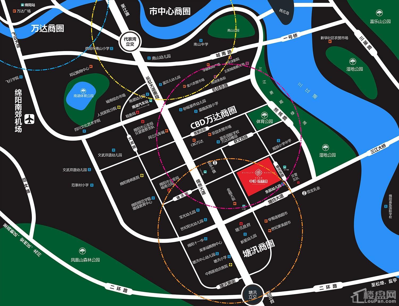 中恒翰林府位置图