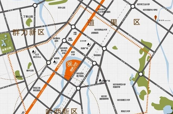 福顺尚景(商铺)位置图
