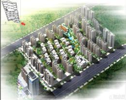 未来城鸟瞰图