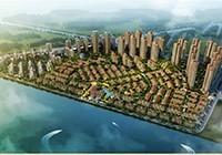 厦门三盛国际海岸高清图