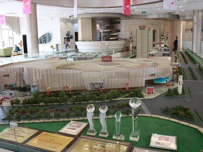 银泰城实景图