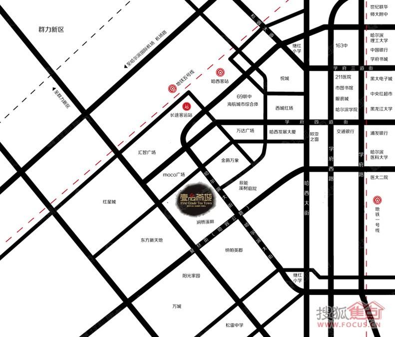 壹品新境商铺位置图