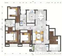 泰山院子户型图