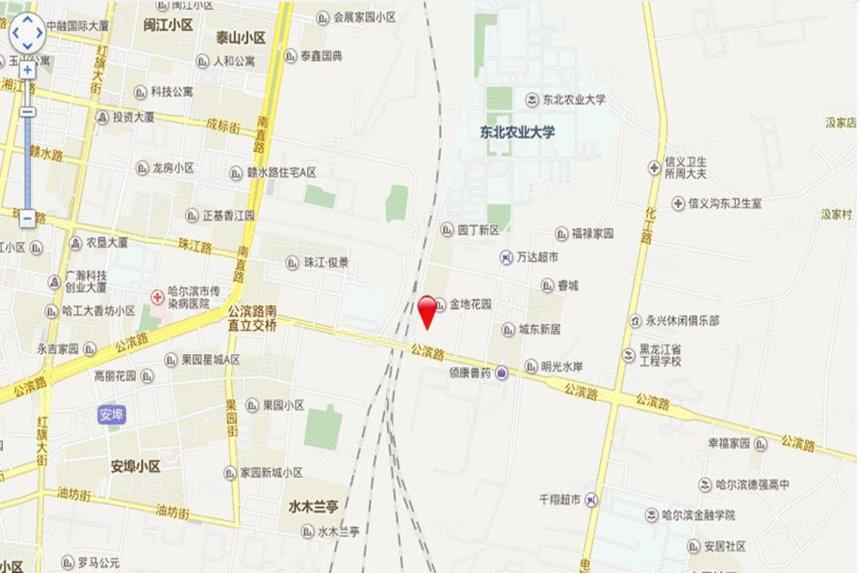 卓琳家园位置图