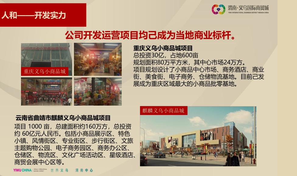 渭南义乌国际商贸城效果图