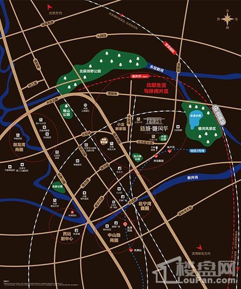 新城樾风华位置图