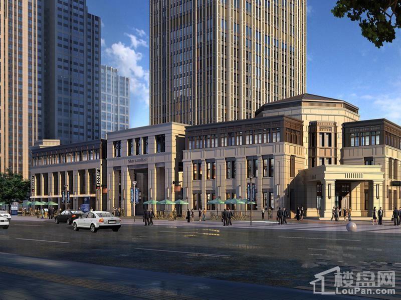 哈尔滨星光耀广场写字楼效果图