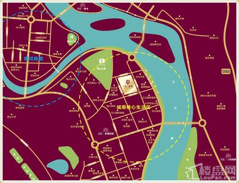 三汇英郡商铺位置图