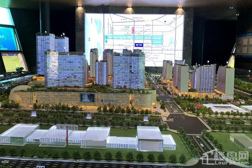 融创孔雀城实景图