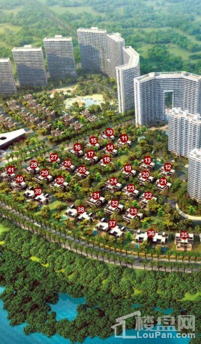 中信国安·北海第一城第二块地底层住宅
