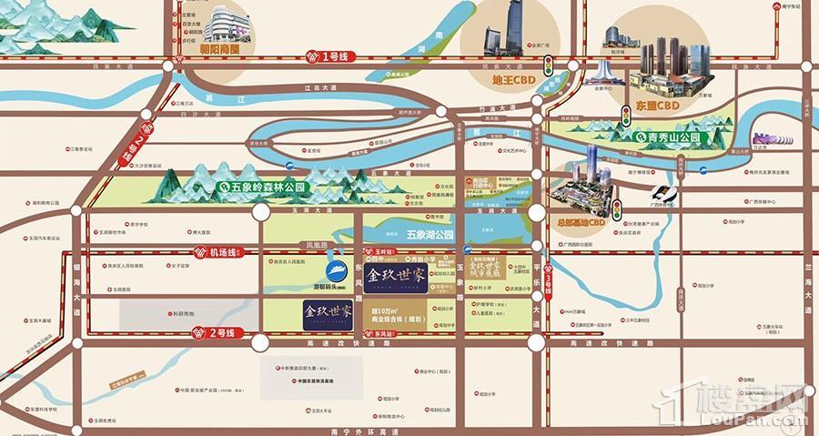 金玖世家位置图