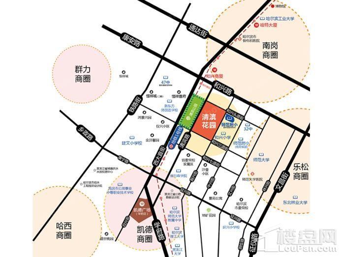 清滨花园位置图