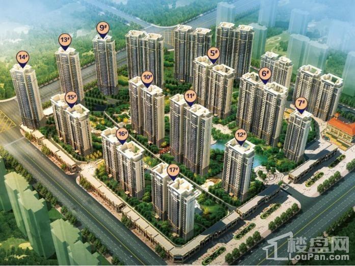 哈尔滨·恒大时代广场效果图