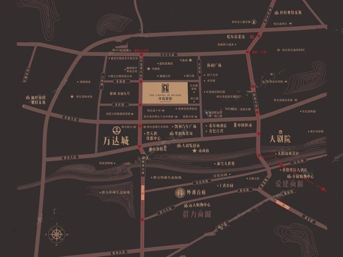 汇龙半岛首府位置图