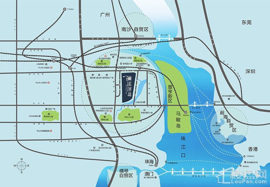 澜溪泮岛位置图