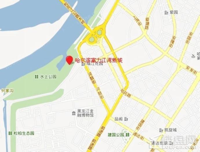 富力江湾新城位置图