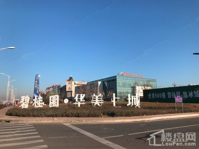 碧桂园华美上城 实景图