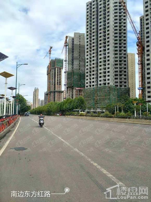 中国铁建梅溪青秀实景图