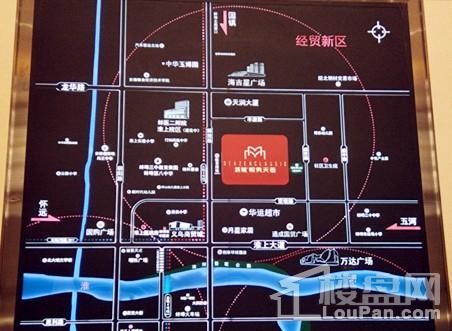 新城悦隽天著区位图