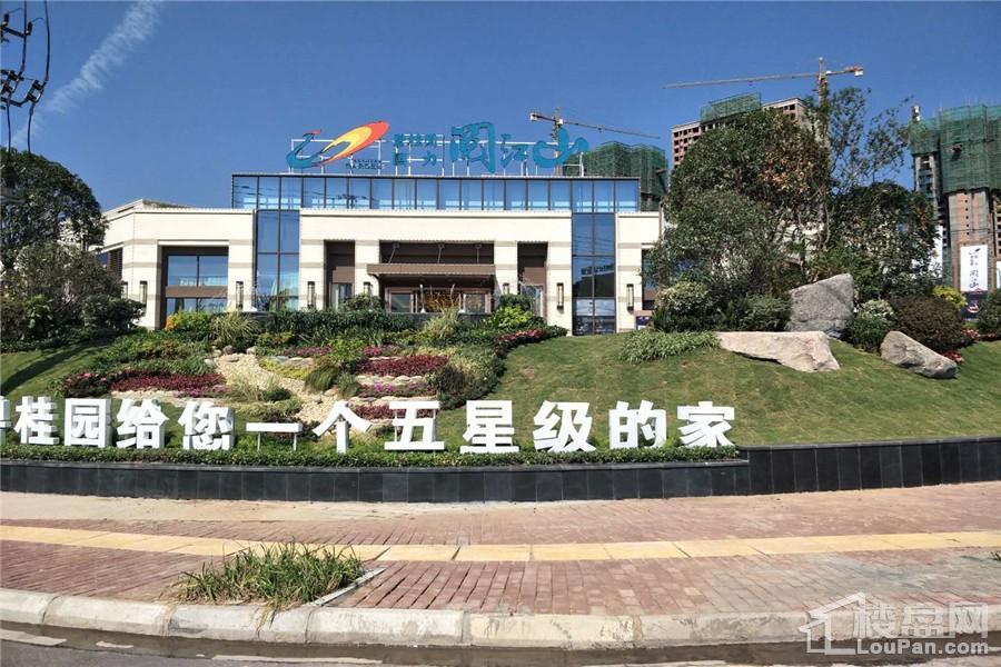 碧桂园·国力·阅江山实景图