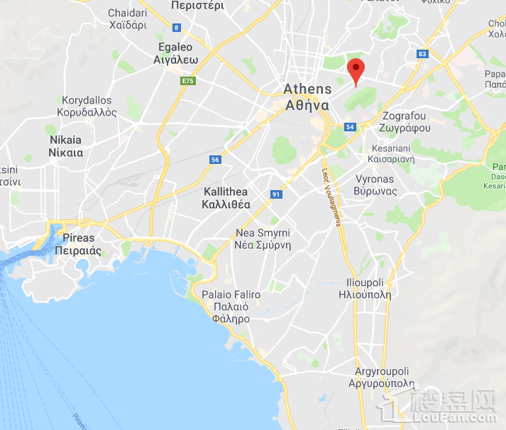 【希腊25万欧元购房移民】位置图