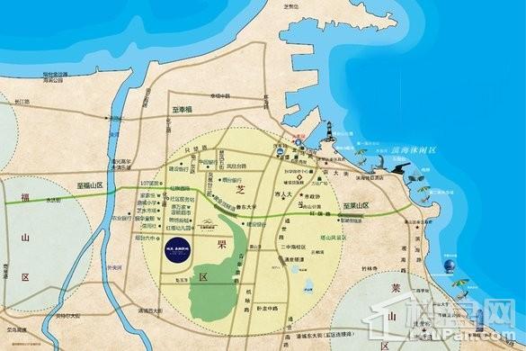 城发泰颐新城三期位置图