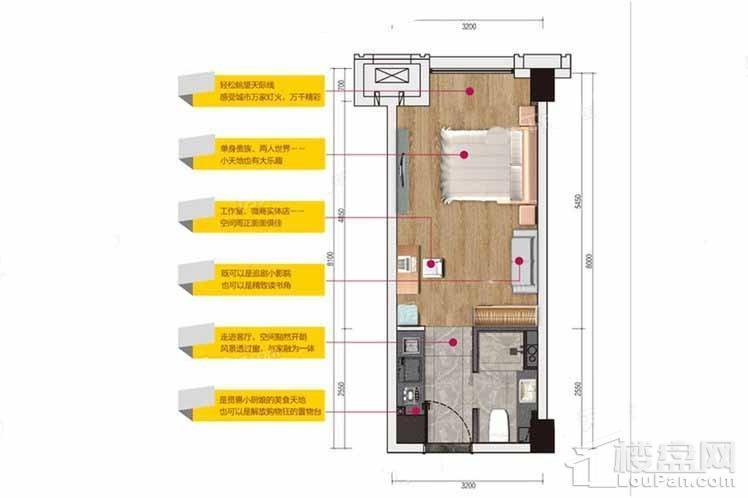 37平公寓户型