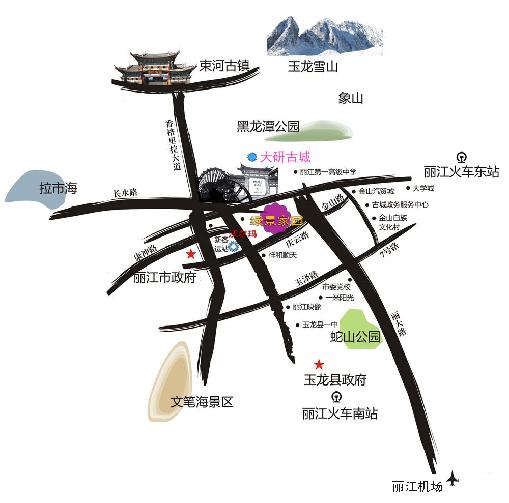 中铁·绿景家园位置图