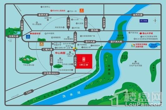 碧桂园滨江府区位图