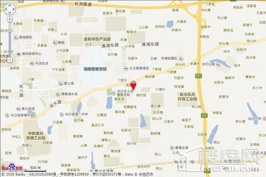 华远碧桂园·海蓝城交通图
