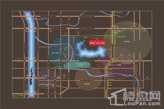 藏瓏湖上公館交通圖