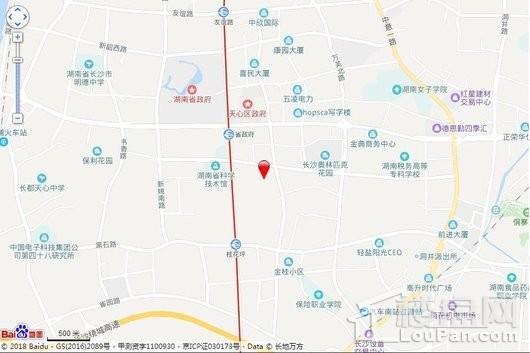 五江書香苑交通圖