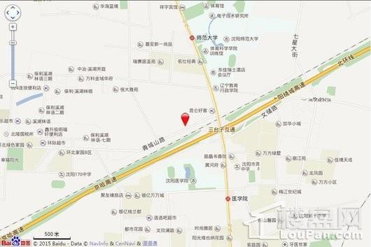 华润翡翠城交通图