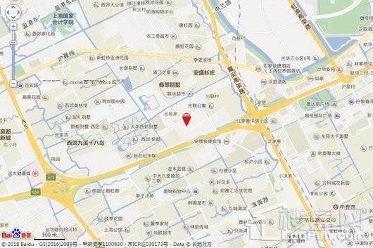 虹桥时代广场交通图