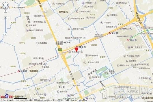 兰韵文化中心交通图