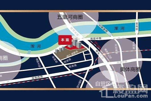 浦江东方大厦交通图