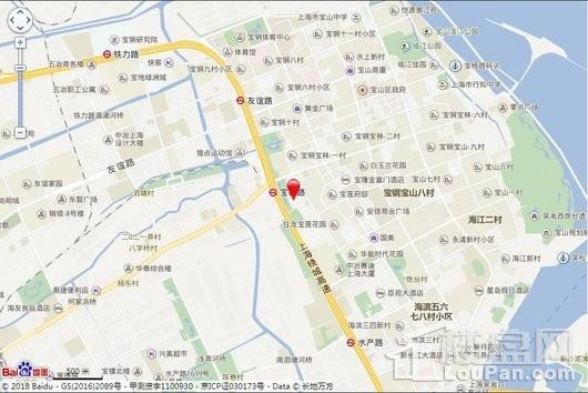 上海宝杨宝龙广场交通图