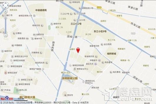 海上壹街区交通图
