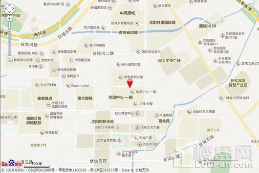 中海天誉交通图