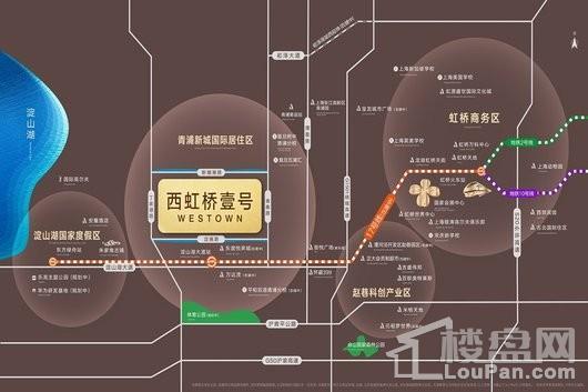西虹桥壹号交通图