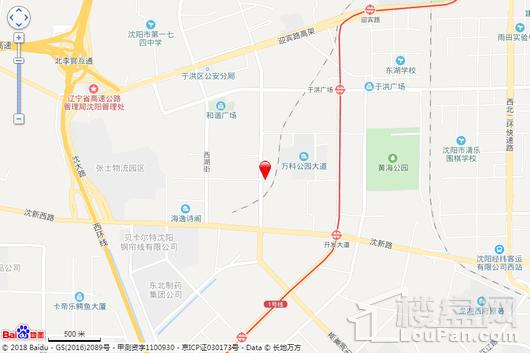 富禹依云蓝湾交通图