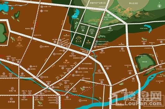 金地悦城大境交通图